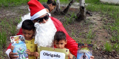 Grupo Diagnocel e Biocore promove ação social com crianças no interior do Pará