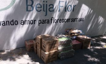 Grupo Voluntariado Diagnocel/Biocore promove ação socioambiental na Associação Beija Flor.
