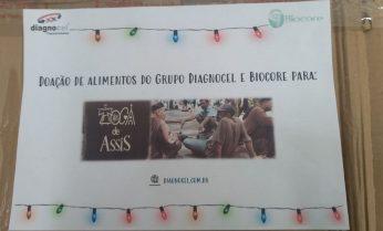 Grupo Voluntariado Diagnocel/Biocore entrega doações para Toca de Assis Fortaleza-CE